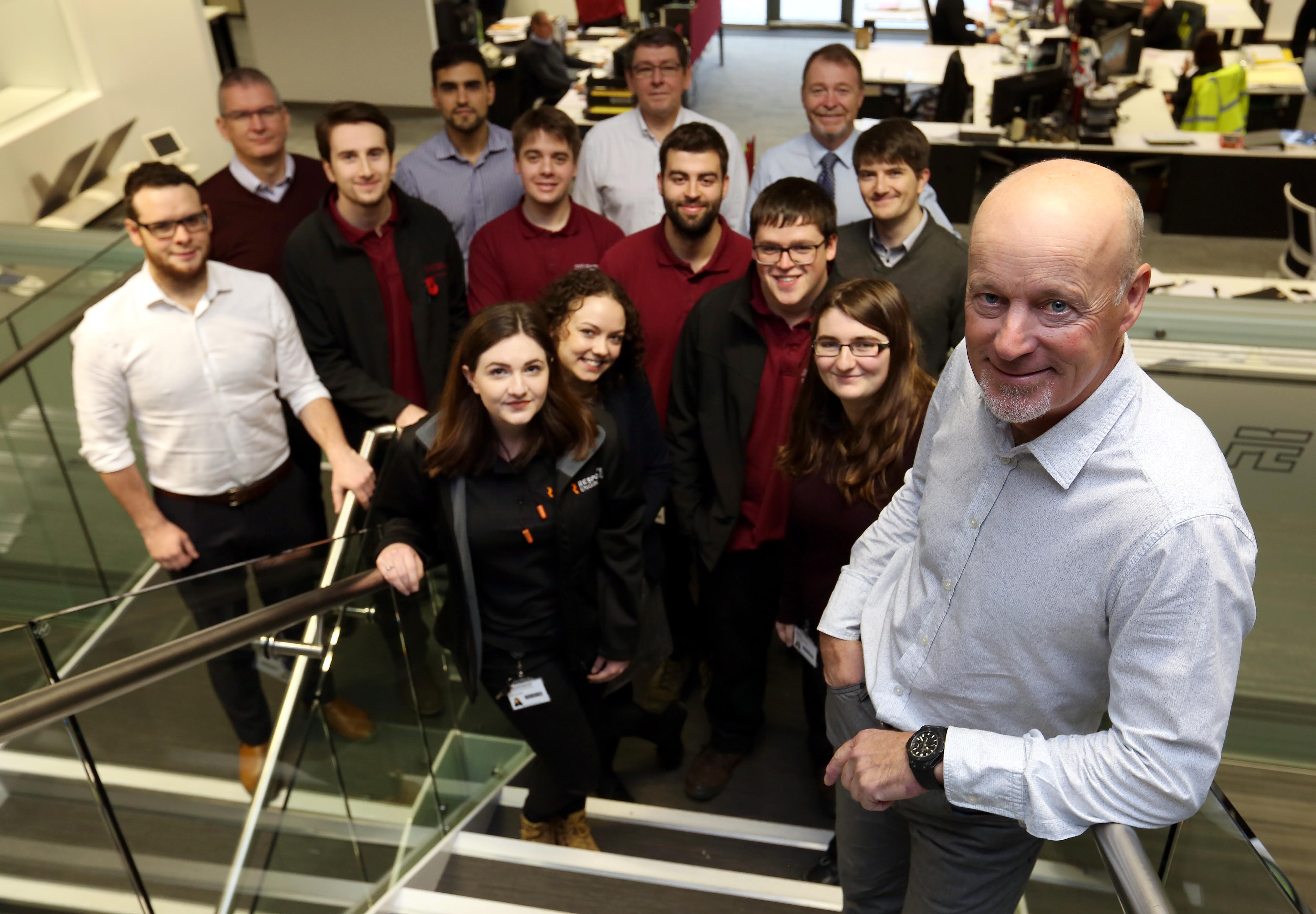 John Reece, chairman, Reece Group launches the Chairman's Innovation Challenge