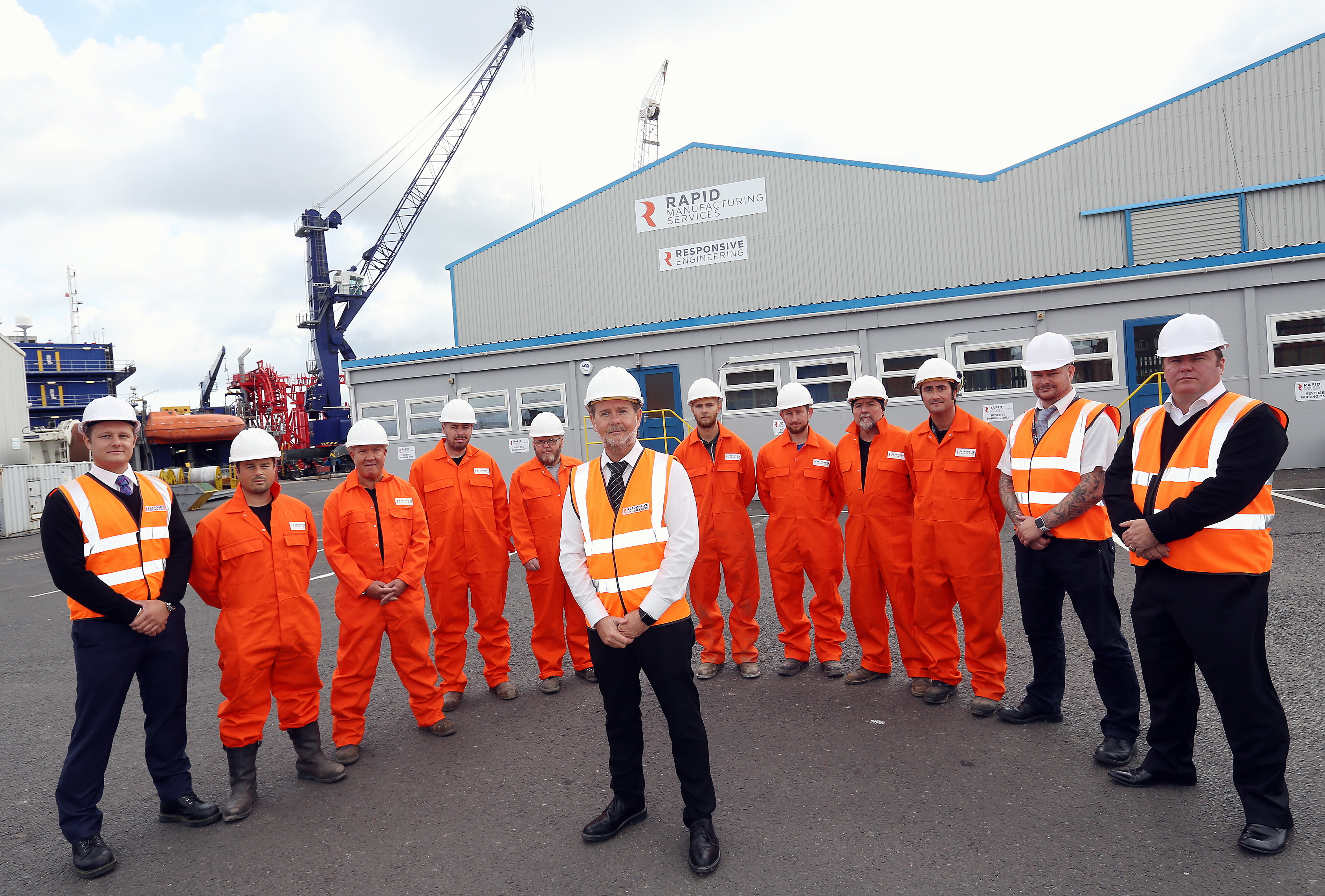 New Quayside Fabrication Facility in Port of Blyth